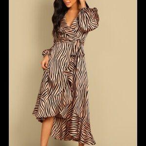 Animal Print Statement Dress